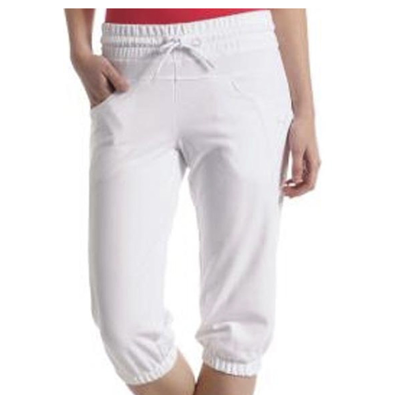Capri Sweat Pants white